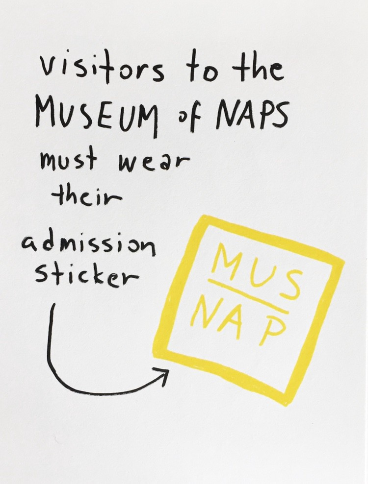 Welcome to the Museum of Naps