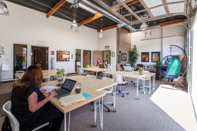 Yoga 3D printers and freerange coworking the changing work