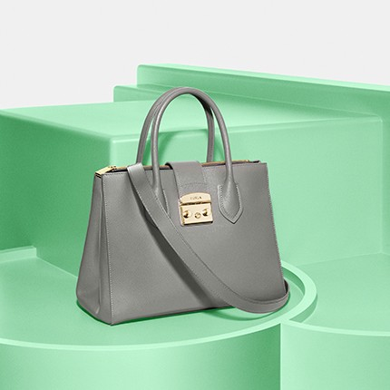 cab8a0c2fd 1. FURLA METROPOLIS M TOTE in Argilla Grey. Grey is a classy colour  suitable for all occasions. Be it a formal or a non-formal event