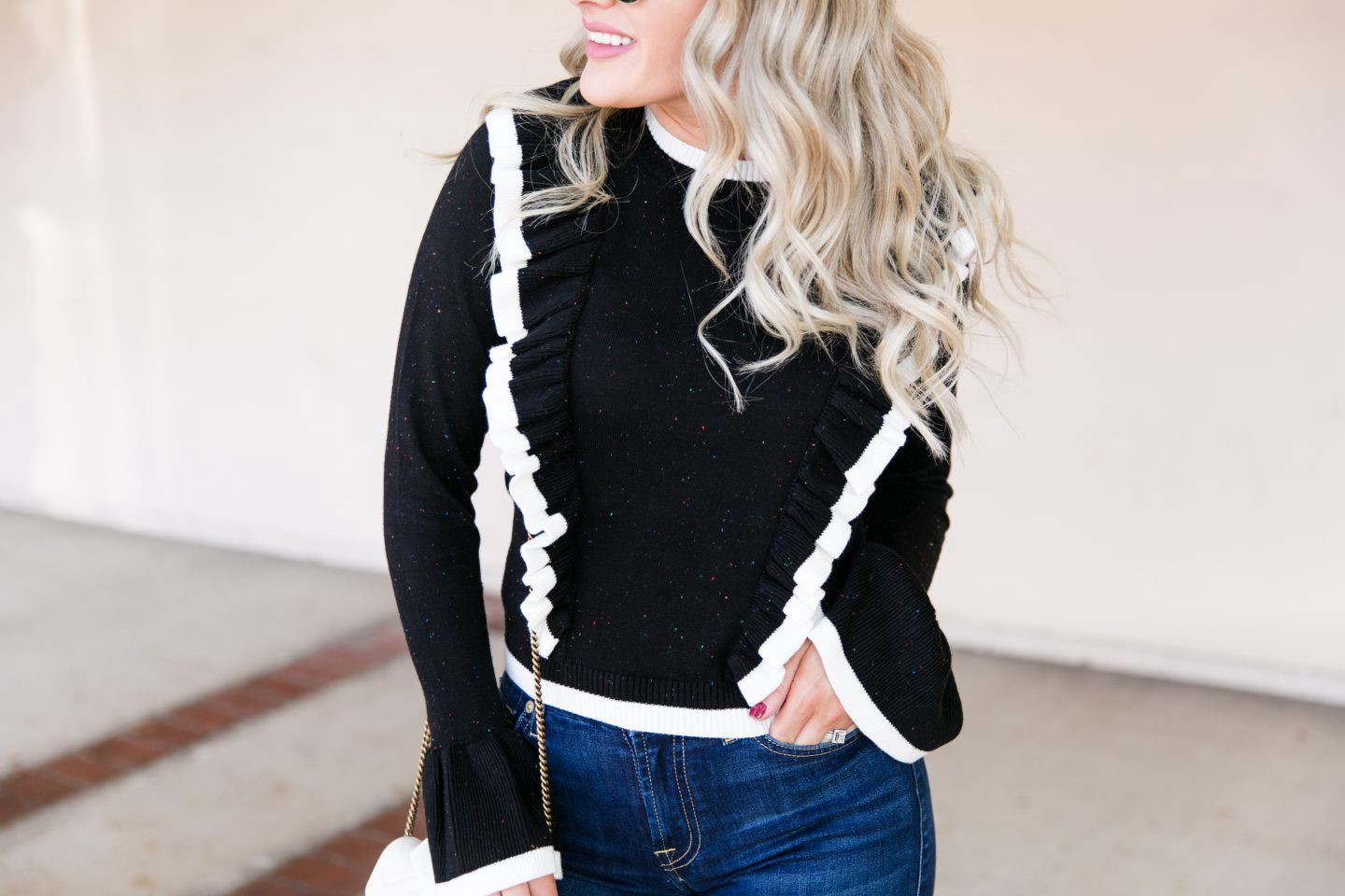 Steve Madden Over The Knee Boots styled for Fall by top Orange County fashion blog, Dress Me Blonde