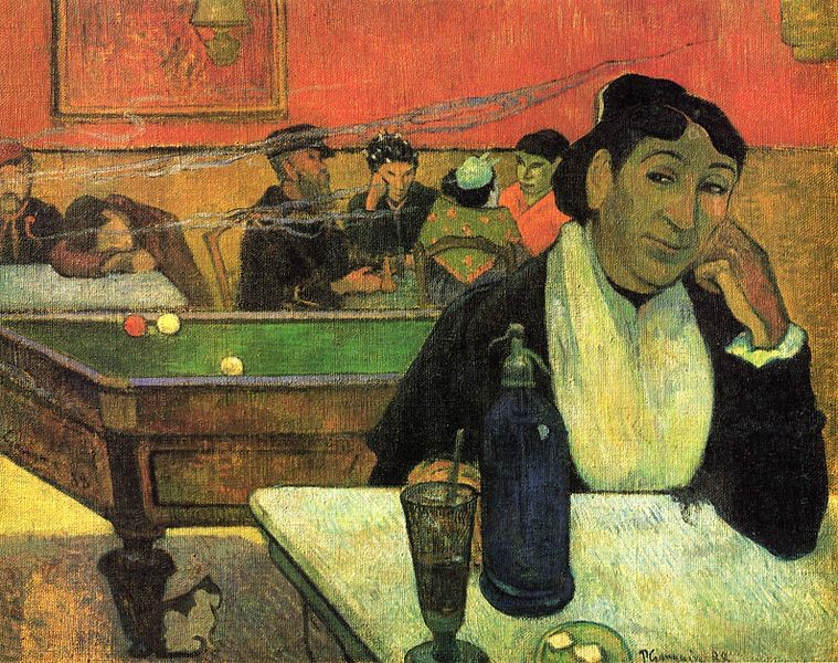 The Night Cafe, Arles, 1888