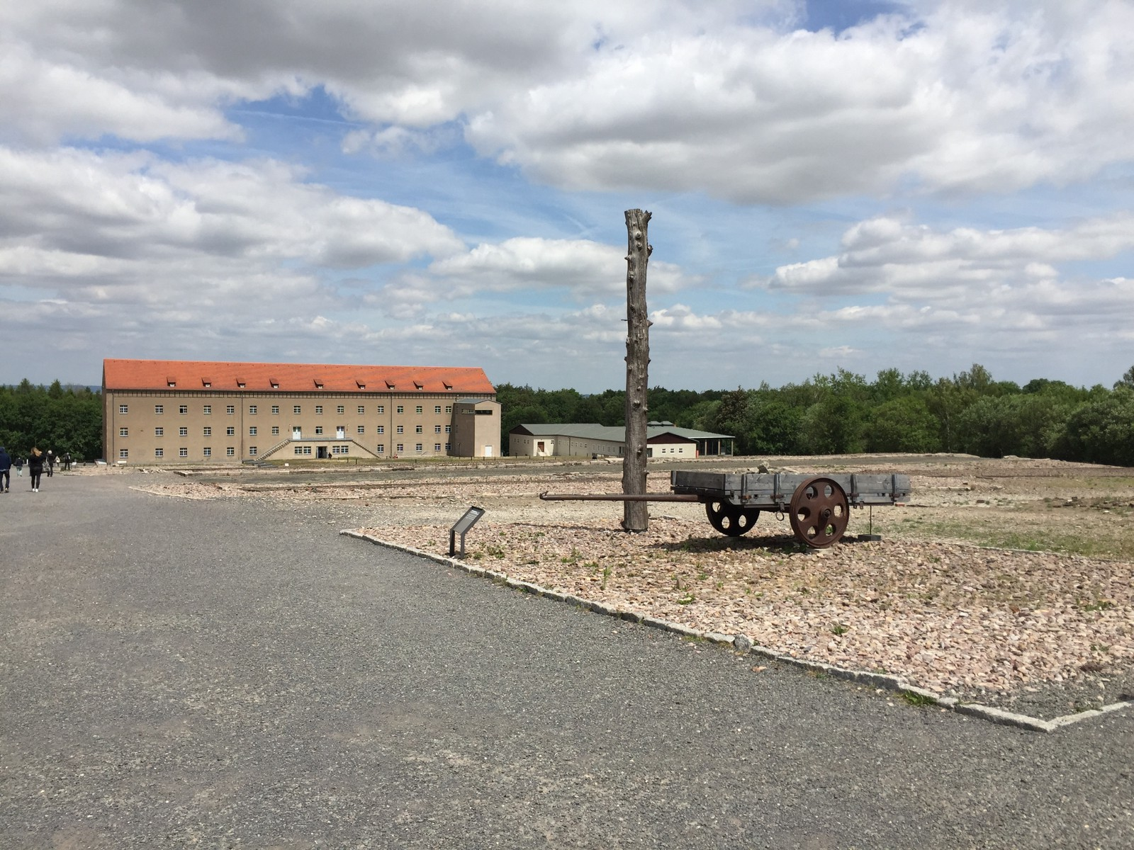 Working area and some of the living quarters of Buchenwald