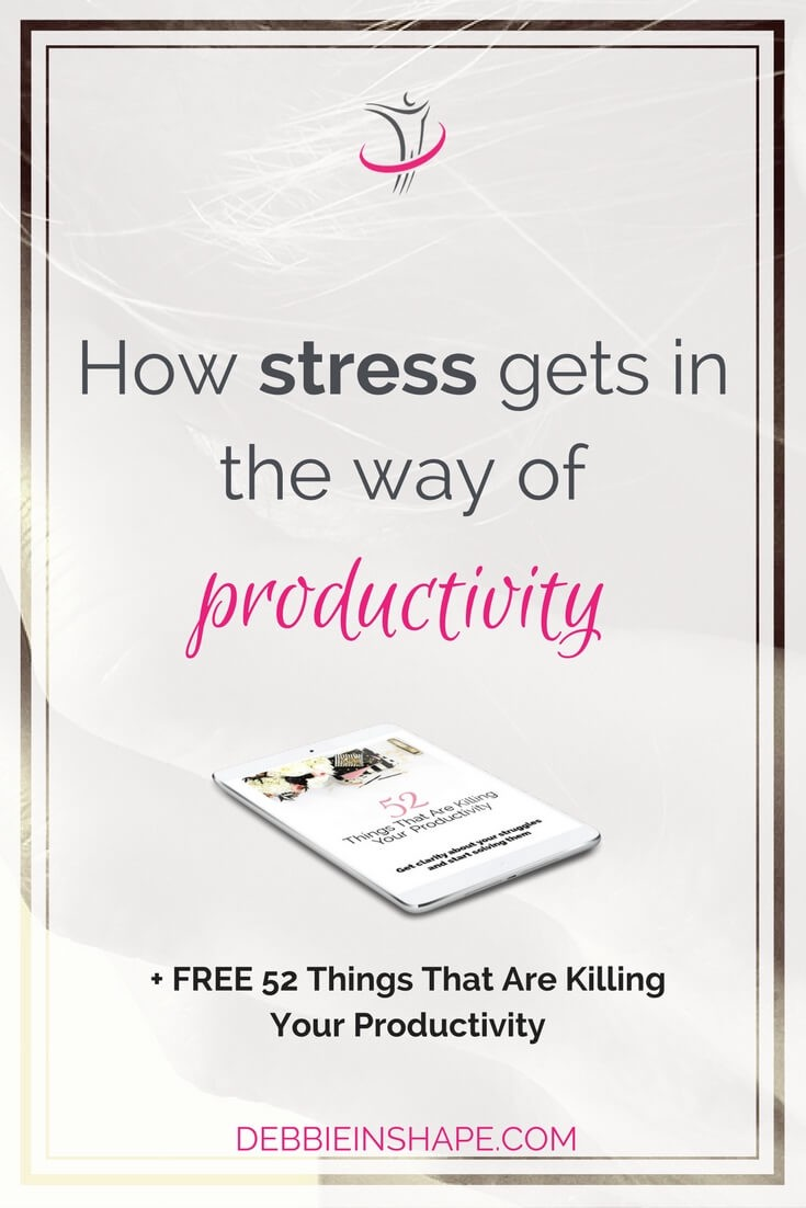 Stress kills productivity in various ways. Let's have a look at some important aspects about it to solve them.