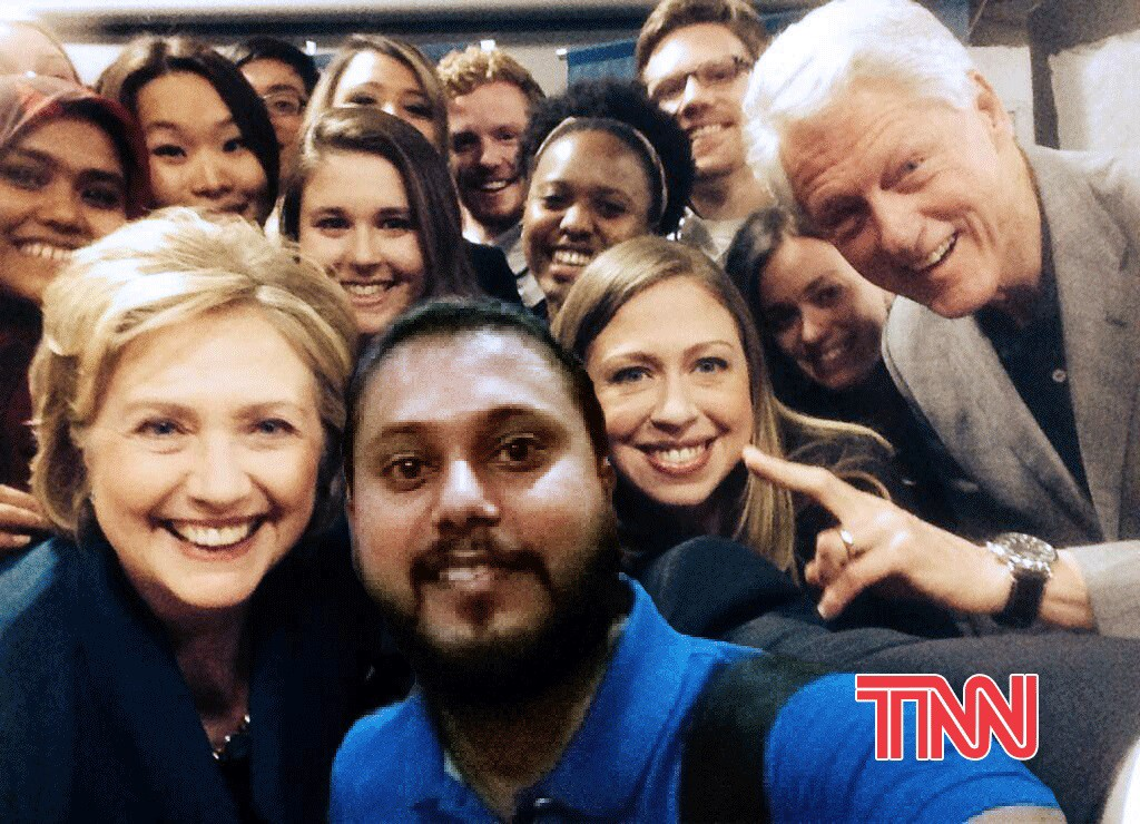 Indian_man_clinton_selfie