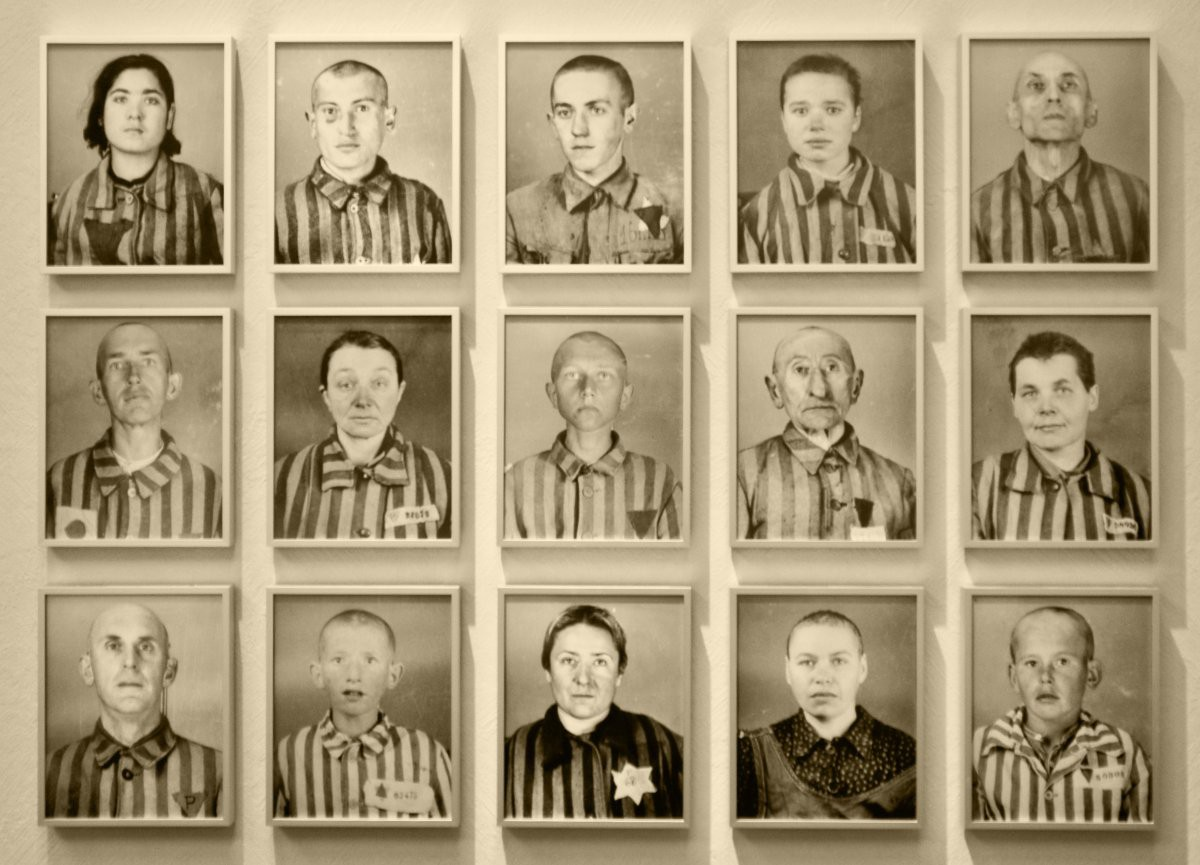 Title: Faces of Auschwitz | Author: James Clear | Source: james_clear | License: CC BY-NC-SA 2.0