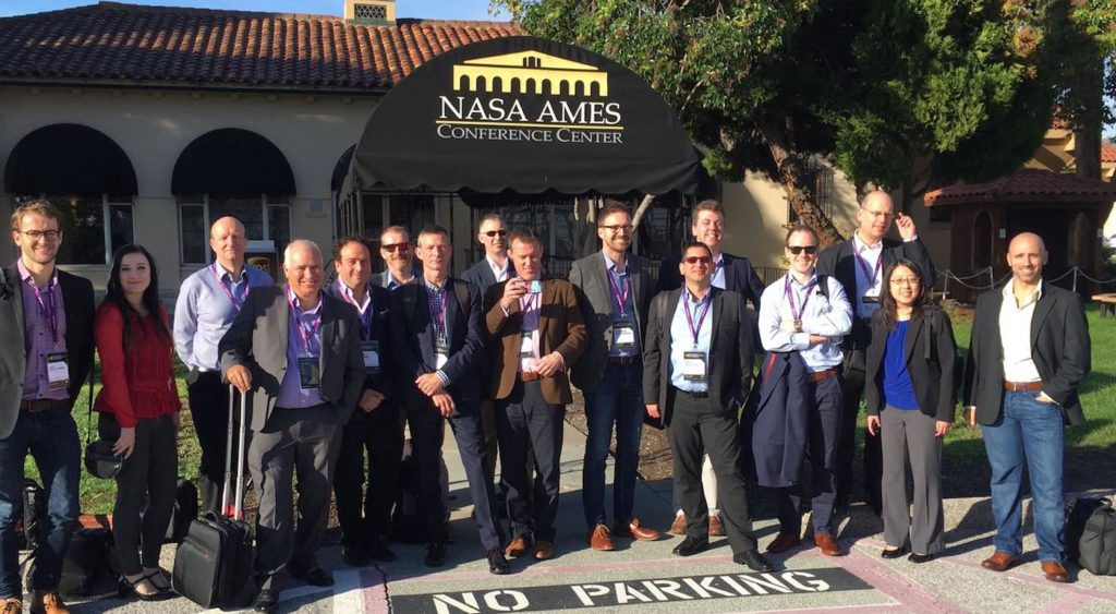 Space Mission 3 visiting NASA's AMES Research Facility