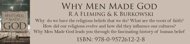 why men made god r a fleming