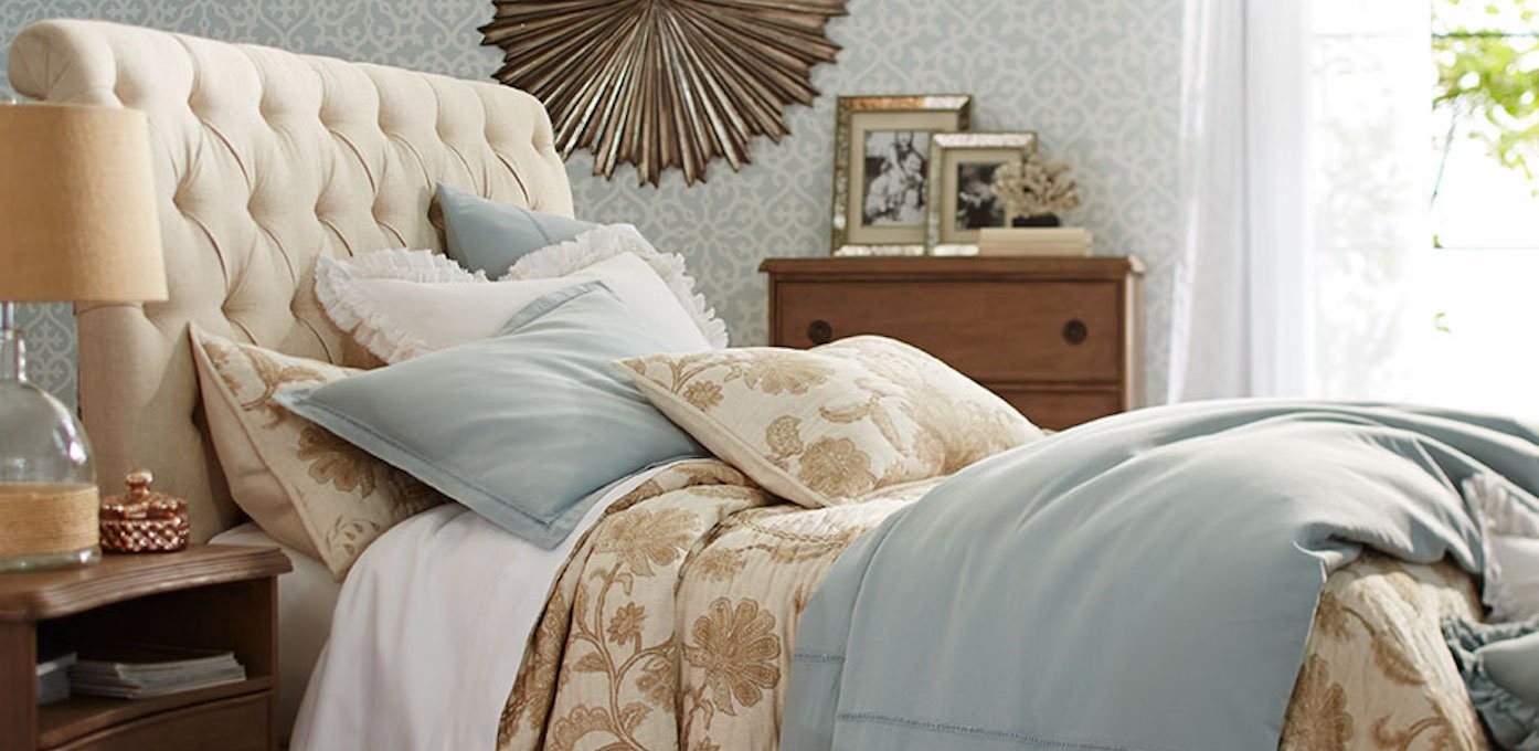 how to make a bold and beautiful bed statement on a budget - Beutiful Bed
