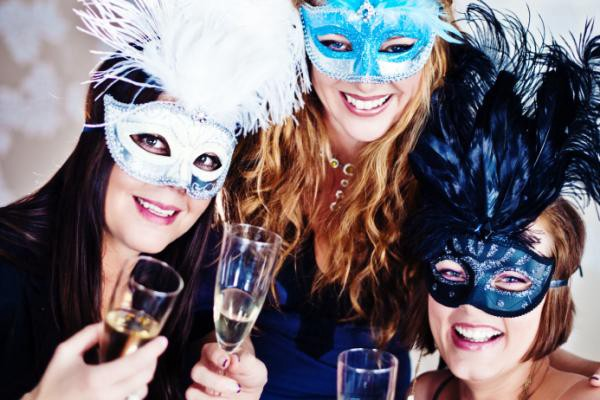 the masquerades new year ball party