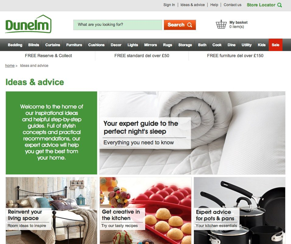 Multichannel retail example - case study