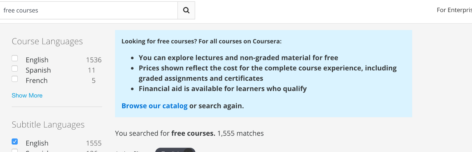How to Sign up for Coursera Courses for Free – freeCodeCamp