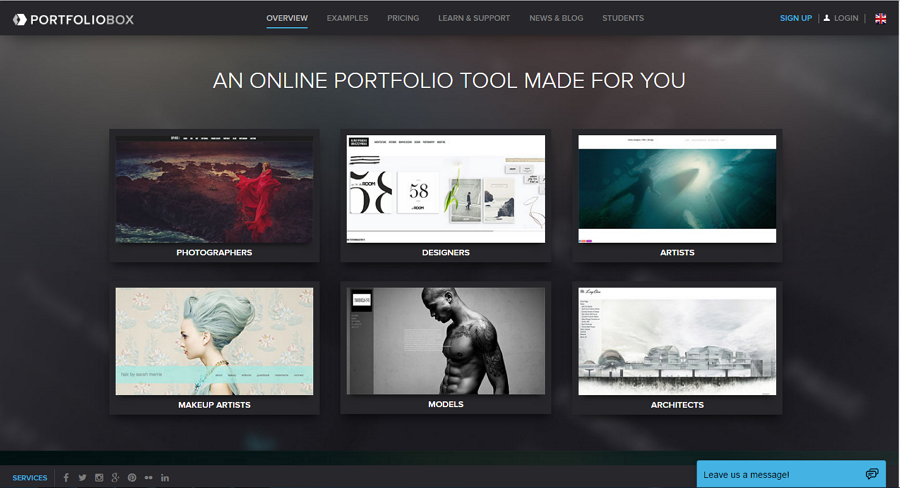 Extreem Top 10 Free Online Portfolio Websites to Create Perfect UX/UI #HS39