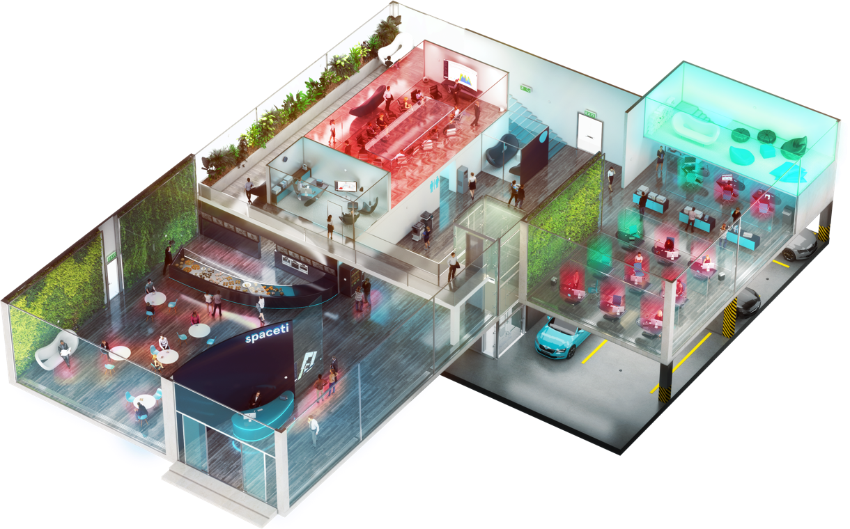 These PropTech Startups Are Changing the Real Estate Game | Spaceti occupany analytics and hot desking | Fohlio ff&e specification and interior design software