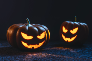 Why companies wont hire veterans scary two jack-o-lanterns