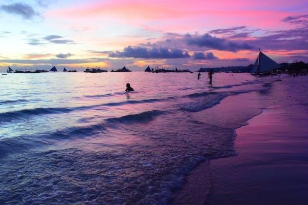 Boracay Sunset by Dish Our Town