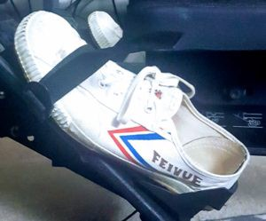 Tiger Claw Feiyue Martial Arts Shoes - White/Black ...