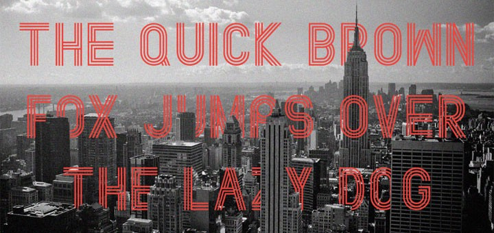 25 Great Free Fonts for Web Designers