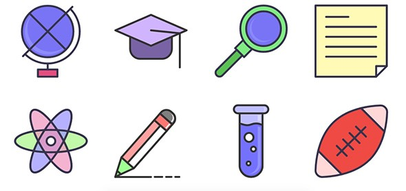 Education Animated SVG Icon Set