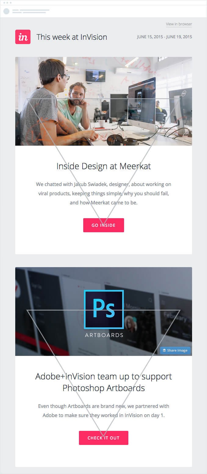complete guide design email reverse pyramid