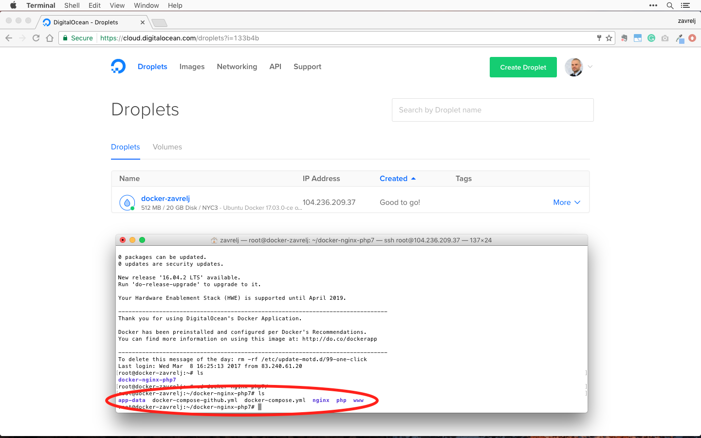 install php extensions docker compose