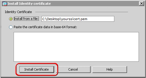 Step by Step Guide to Install SSL Certificate on Cisco ASA 5510