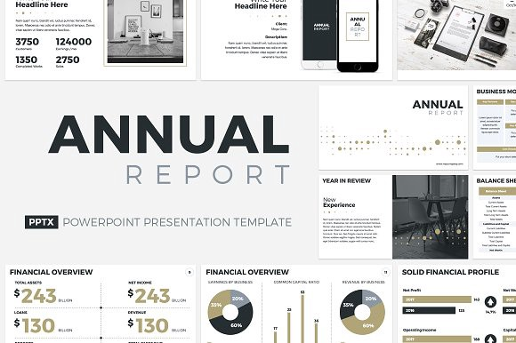 20 best annual report templates best digital themes medium report template created by creativeslides is comprehensive and contains a wide range of content options including a directors speech year in review toneelgroepblik Gallery