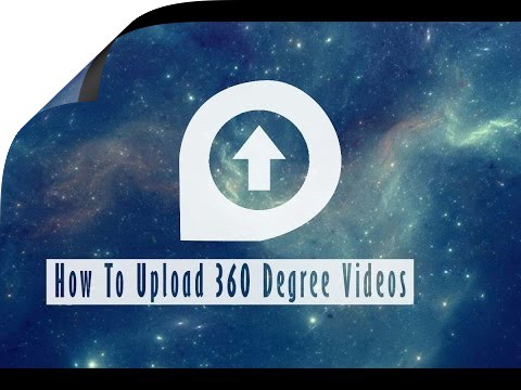 how to upload 360 degree videos on Youtube