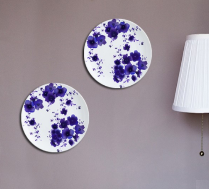 Floral Dreams Wall Plate