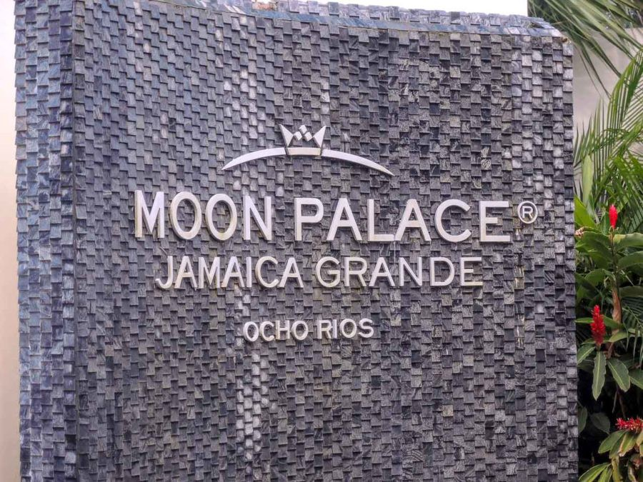 Moon Palace Jamaica Grande sign