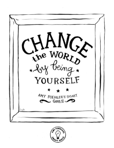 change the world - Coloring Pages For Women