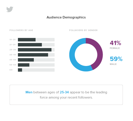 sprout social twitter audience demographics report