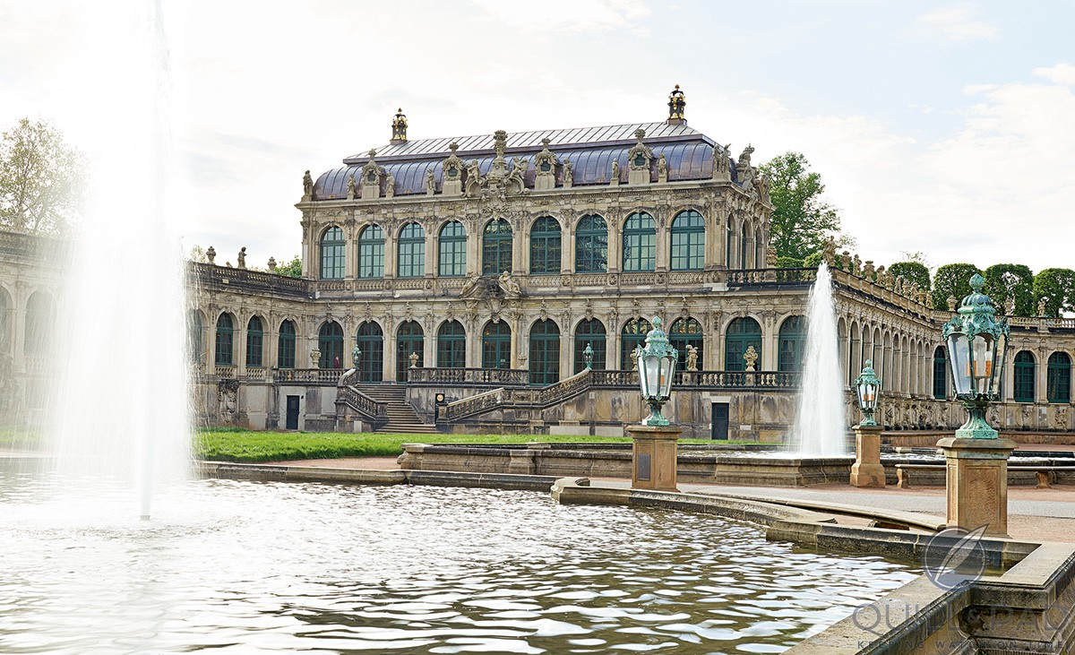 The Royal Cabinet of Mathematical and Physics Instruments museum in Dresden, which is housed in the historic Zwinger along with other state museums
