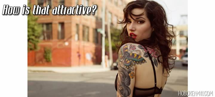 tattoos are not attractive