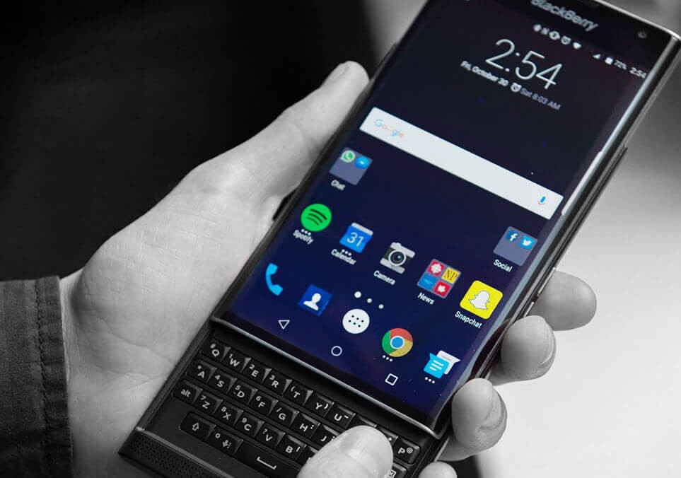 """Priv"""" Is BlackBerry's First Android Phone!! – Chip-Monks"""