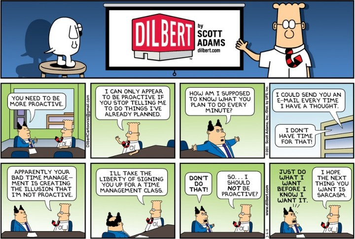 10 Dilbert Cartoons That Get Project Management Just Right