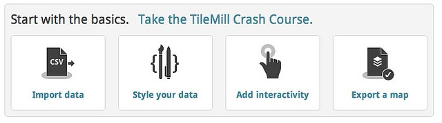 Crash Course Published for TileMill – Points of interest