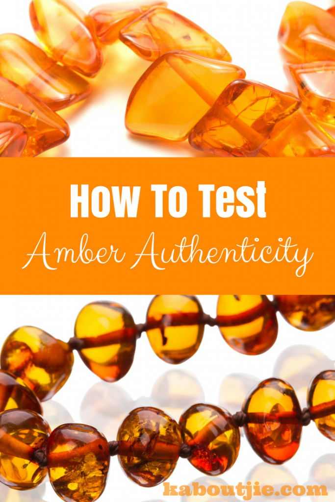 Test amber authenticity