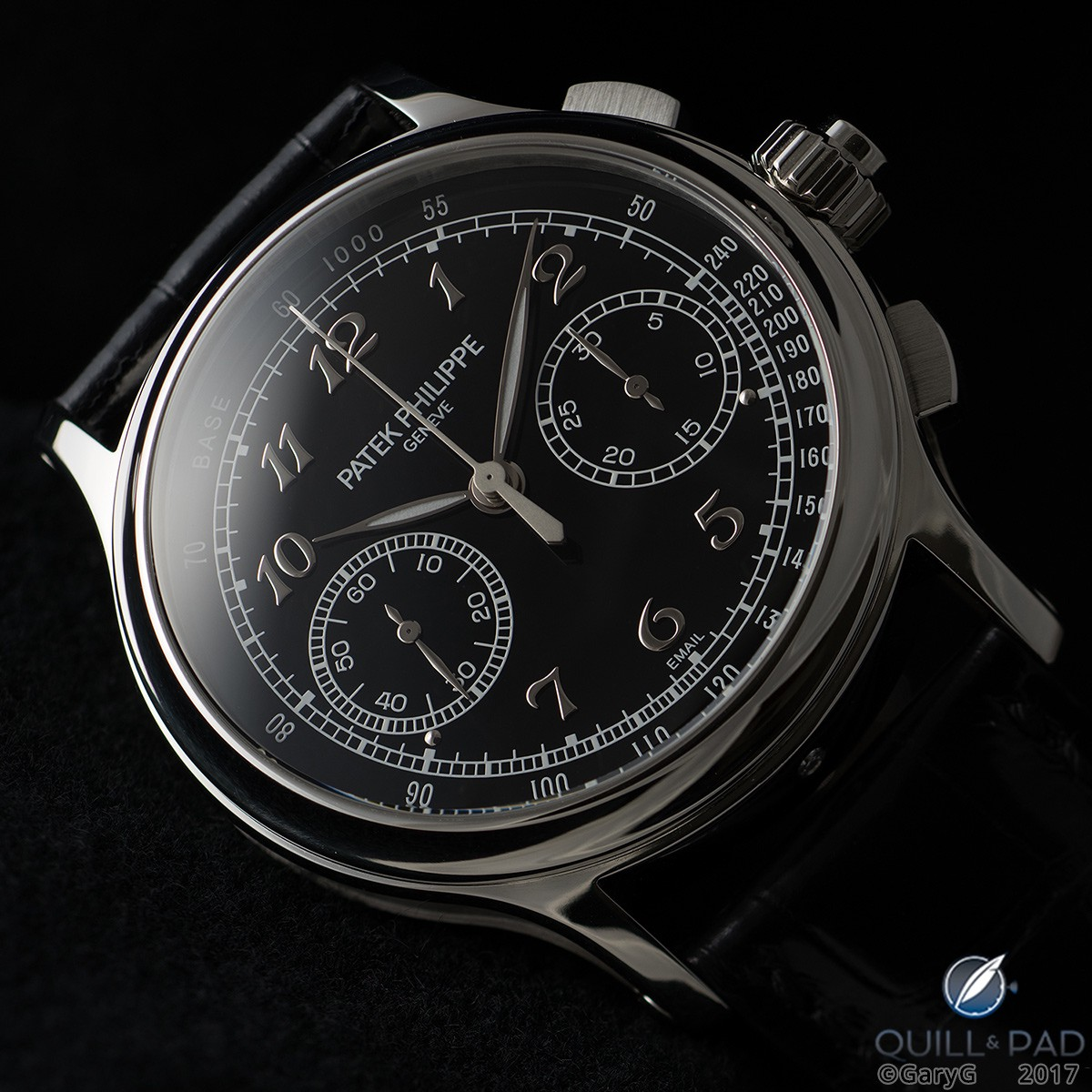 Dial side of the Patek Philippe Reference 5370P