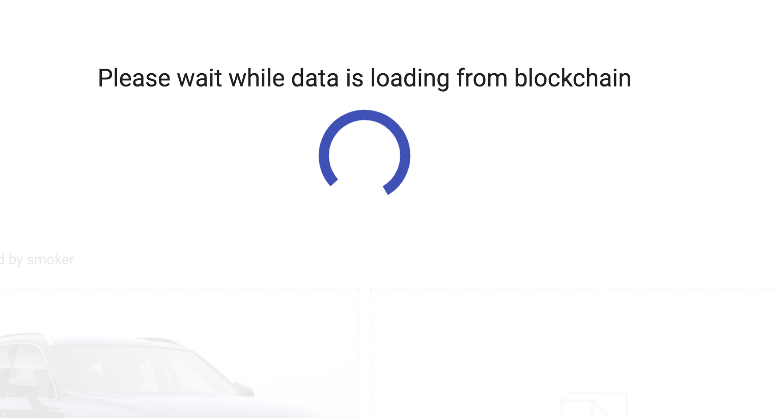 you will see a loading window