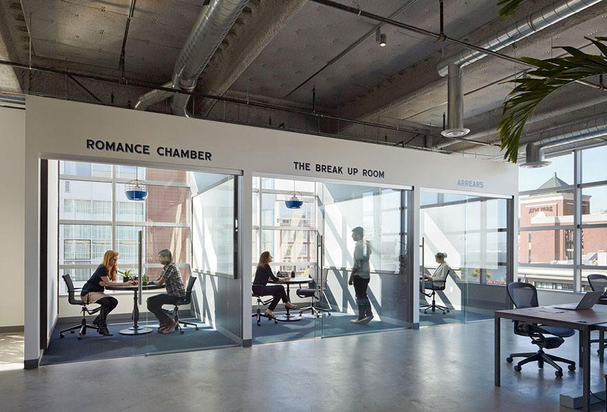 Small Office Designs Which Might Make You Feel Cool