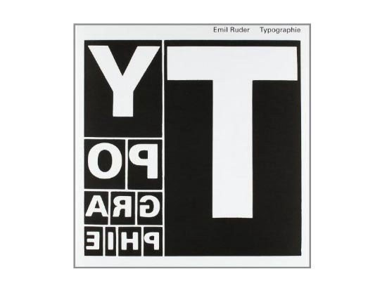 Typographie: A Manual of Design Book