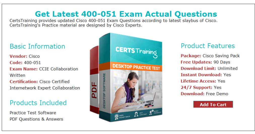 Latest And Updated Questions For 400 051 Exam Updated 2017