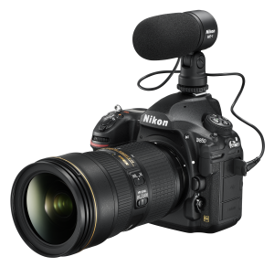 Nikon D850 with ME-1 Microphone