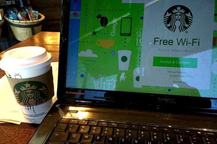 Starbucks places with internet wifi