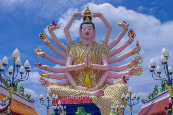 Cundi Guanyin Koh Samui Thailand Photo by Gemma from Two Scots Abroad
