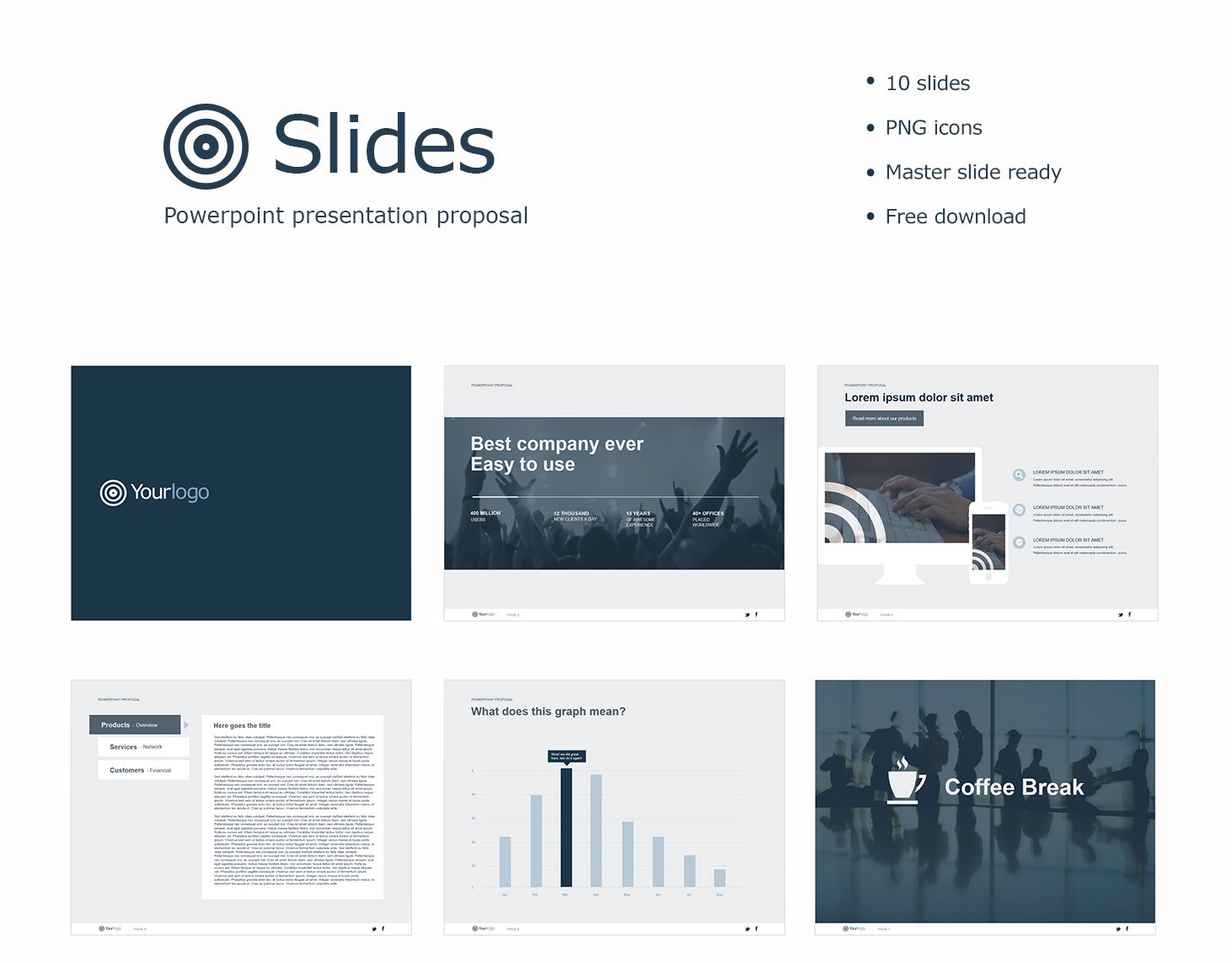 slides ppt is a simple business worthy presentation that will be sure to impact your viewers with a limited selection of slides icons and color its