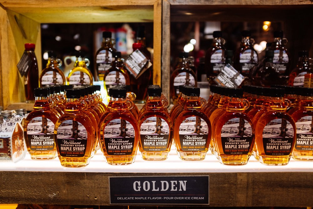 Vermont is now grading their syrups by taste, not A,B,C,etc. Golden Color (Delicate Taste),Amber Color (Rich Taste),Dark Color (Robust Taste),Very Dark Color (Strong Taste). More info at Vermont Maple