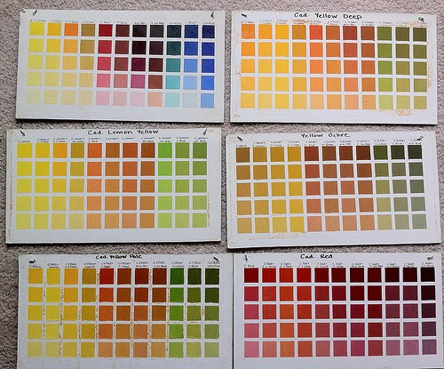 How I Learned About Color Mixing Julia Lundman Medium