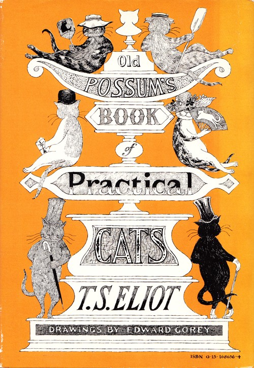 Cover of Old Possums' Book of Practical Cats by T.S. Eliot