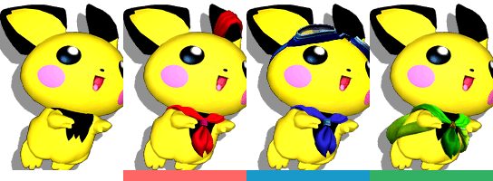 For the series\u0027 Wii entry, Brawl, Pikachu returns but Pichu is cut\u2026 or is  he? Let\u0027s look at Pikachu\u0027s costumes.